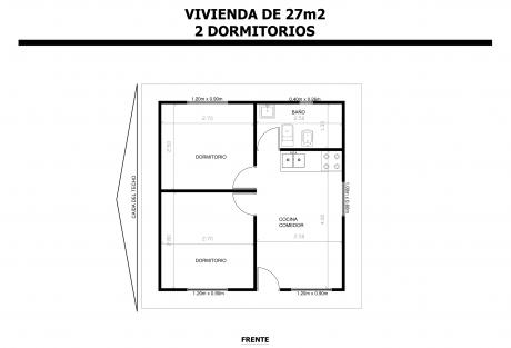Vivienda-de-27m2-2-Dormitorios