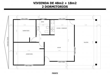 Vivienda-de-48m2-18m2-2-Dormitorios