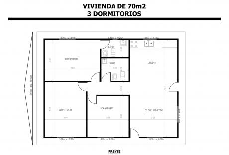 Vivienda-de-70m2-3-Dormitorios